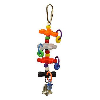 AE Cage Company Happy Beaks Tiny Rings and Stars Bird Toy - 1 count