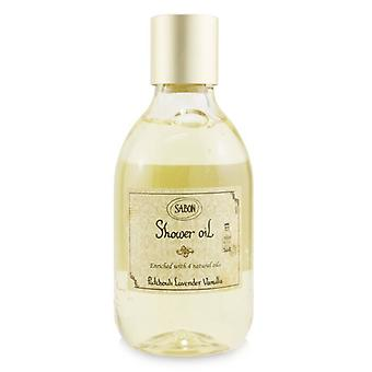 Aceite de Ducha Sabon - Patchouli Lanvender Vainilla (Botella de Plástico) 300ml/10.5oz