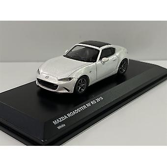 Mazda Roadster RF RS White 2016 1:64 Scale Kyosho 7068A6