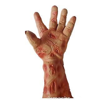 Venalisa Halloween Charakter Handschuhe Wolverine Pfoten Fred Palm Scharlachrot GruseligEs Kleid Latex Requisiten