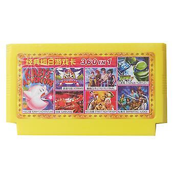 כרטיס צהוב של קונסולת משחקים אדומה-לבנה Fc כרטיס צהוב למשחק נוסטלגי