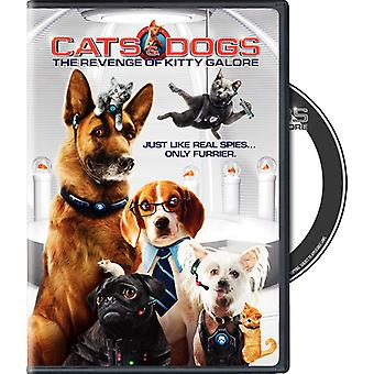 Cats & Dogs 2: Revenge of Kitty Galore [DVD] USA import