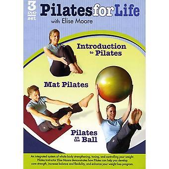 Pilates 3Pak [DVD] USA import