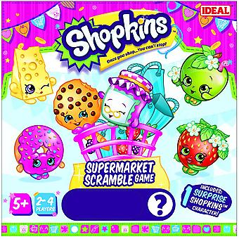 Ideale Shopkins supermarkt Scramble spel *