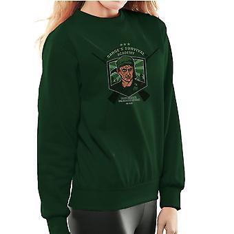Sarges Survival Academy Platoon Sergeant Barnes Women's Sweatshirt
