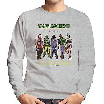 Snake Mountain Training Centre Eternia Skeletor Men's Sweatshirt