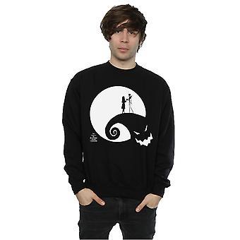 Nightmare Disney masculine Before Christmas lune Oogie Boogie Sweatshirt
