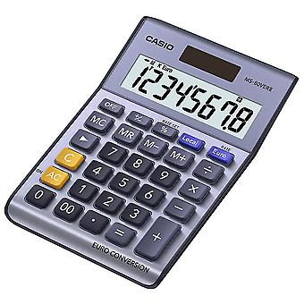 Casio 8 Digit Currency Desk Calculator With Euro Conversion (MS80VERII)