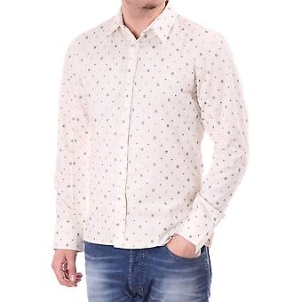 Diesel Mens L/s Patterned Shirt