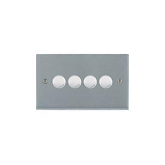 Hamilton Litestat Cheriton Victoriaanse Satin Chrome 4g 100W LED Dimmer SC