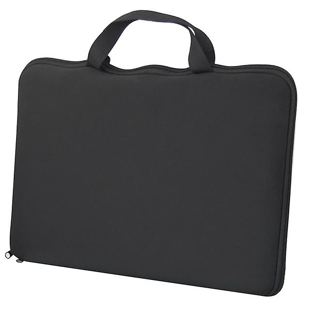 TRIXES 15.6 Stylish Black Laptop Notebook Sleeve Bag Case Cover for Dell Sony HP