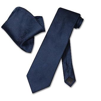 ベスビオ ナポリ ペイズリー ネクタイ ・ ハンカチ首ネクタイ セットに一致します。