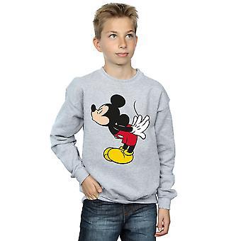 Disney jongens Mickey Mouse splitsen Kiss Sweatshirt
