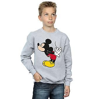 Disney Boys Mickey Mouse Split Kiss Sweatshirt