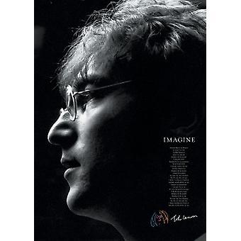 John Lennon - Imagine Poster Print (24 X 36)