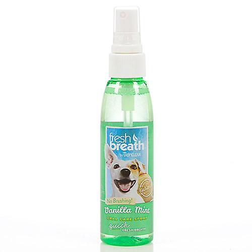 Tropiclean Fresh Breath Vanilla Mint Oral Care Spray