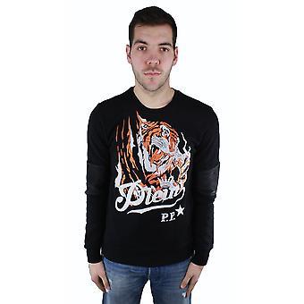 """Philipp Plein MJ00014 """"Blood Tiger"""" 02 Jumper"""