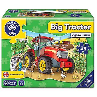 Orchard Big Tractor Floor Puzzle