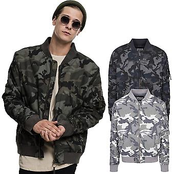 Urban classics - VINTAGE COTTON bomber pilot pilot jacket