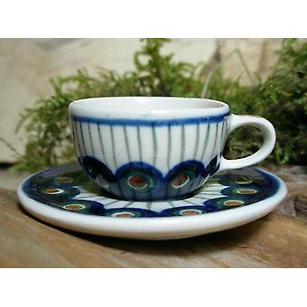 Šálka s tanierom, miniatúrne, tradícia 10, Bunzlauer hrnčiarstvo-BSN 6928