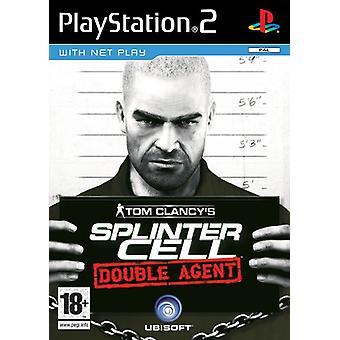 Tom Clancys Splinter Cell dobbelt agent (PS2)-fabriks forseglet