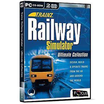 Trainz Railway Simulator Ultimate Collection (PC CD) - New