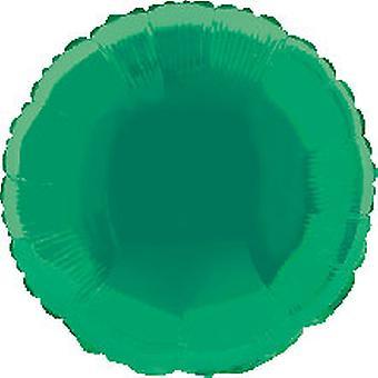 Fleuret ballon rond solide Metallic Green