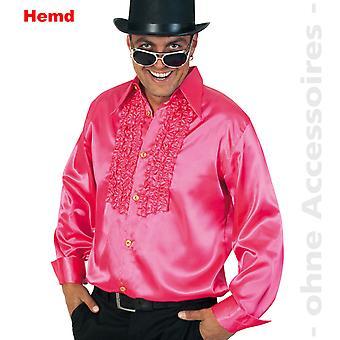 70 's gegolfde shirt popster Discodancer heren kostuum