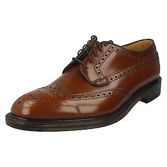 Mens Loake Formal Brogue sapatos Braemar