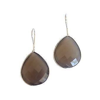 Chandelier sølv øreringe gemstone øreringe 925 sølv øreringe sølv