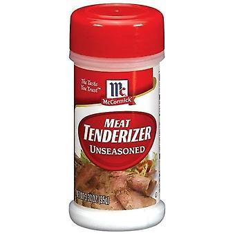 McCormick Meat Tenderizer Unseasoned 3.37 oz Bottle