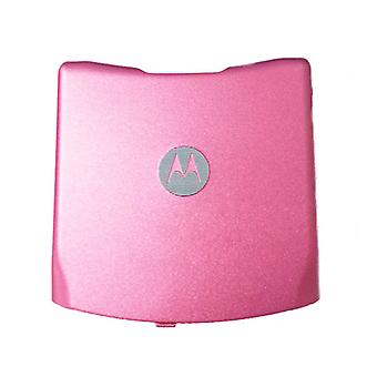 OEM Motorola RAZR V3 GSM Sandard Battery Door - Pink (AT&T Logo)