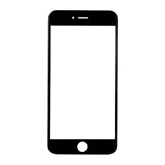 الاشياء المعتمدة® اي فون 7 الزجاج الزجاجي الجبهة لوحة AAA + الجودة - أسود