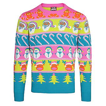 Christmas Shop Adults Unisex Multi Character Christmas Jumper