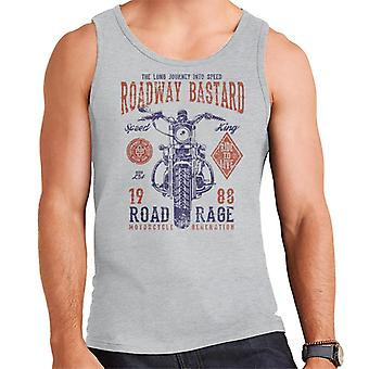 Roadway Bastard Motorcycle Men's Vest