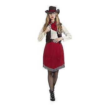 Cowgirl Ellen akoestische Lady wilde westen Lady kostuum westerse kostuum kostuum dames