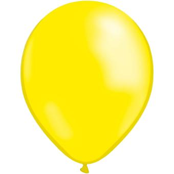 Ballons Latex Jaune - 10-pack