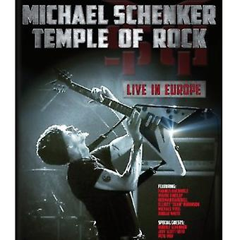 Michael Schenker - Temple of Rock: Live in Europe [BLU-RAY] USA import