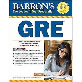 Barron's GRE - 22nd Edition by Sharon Weiner Green - Ira K. Wolf - 97