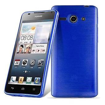 Cadorabo sag for Huawei ASCEND G520/G525 Case Cover-mobiltelefon sag lavet af fleksibel TPU silikone-silikone sag beskyttende sag Ultra Slim Soft tilbage Cover sag kofanger