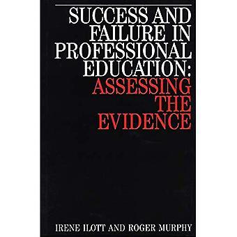 Succes en falen in beroepsopleiding, beoordeling van het bewijs