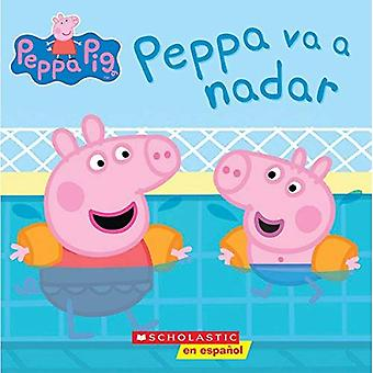 Peppa va a Nadar = Peppa Goes Swimming