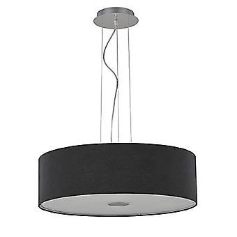 Ideal Lux - Woody noir grand pendentif IDL105628