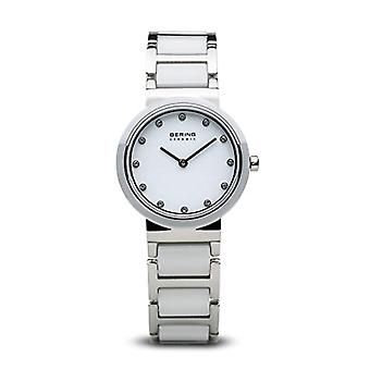 Bering Analog quartz women's watch with stainless steel band 10729-754