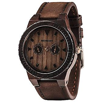 Wewood Analog quartz men's watch with leather WW37005