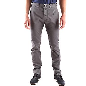 Stone Island Ezbc024008 Men's Grey Cotton Pants