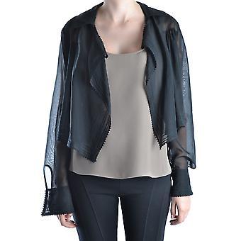 Gianfranco Ferré Ezbc105005 Women's Black Cotton Outerwear Jacket