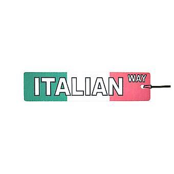 Italienisch-Art Straßenschild Auto-Lufterfrischer