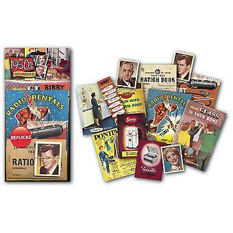 1950 Kotitalouksien nostalginen muistoesineitä pack