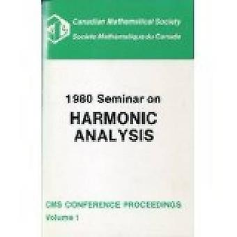 1980 Seminar on Harmonic Analysis by C. Herz - R. Rigelhof - 97808218
